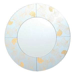 Asolo Mirror With Gold Print Detail Finish
