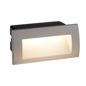 0662GY Ankle LED Indoor/Outdoor Recessed Rectangle, Grey