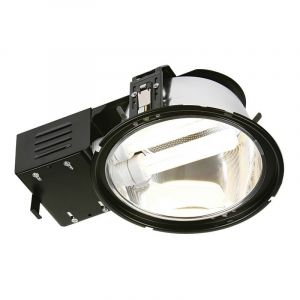 Saxby 13724 Alaska 2x18W High Frequency Double Recessed Downlight Black Finish