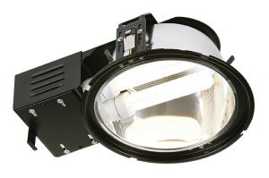 Saxby 13731 Alaska 2x26W High Frequency Emergency Double Recessed Downlight Black Finish