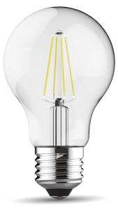 Value Classic LED GLS E27 Dimmable 6.5W 3000K Warm White, 806lm, Clear Finish, 3yrs Warranty