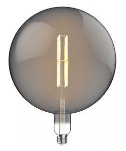 Classic Style LED Type K1 E27 Dimmable 220-240V 4W 2100K, 200lm, Amber Finish, 3yrs Warranty