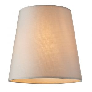 """Grace 1 Light E14 6"""" Shade Tapered Cylindrical In A Pure Silk Marble Effect"""