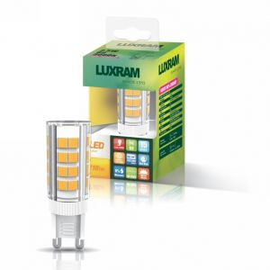 Pixy LED G9 Dimmable 230V 4W Natural White 4000K, 350lm, Clear Finish, 3yrs Warranty