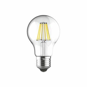 Value Classic LED GLS E27 Dimmable 230V 8W Warm White 2700K, 806lm, Clear Finish