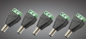 (Pack Of 5) male Dc Plug Adapter