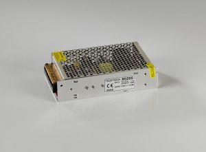 Techtouch Metal cased 12V 75W LED Power Supply, 2yrs Warranty