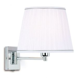 Endon 9086-CH Chrome Wall Bracket Switched 1 Light In Chrome