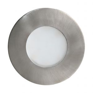 Margo 1 Light LED Integrated Outdoor IP65 Recessed Downlight Stainless Steel With White Glass