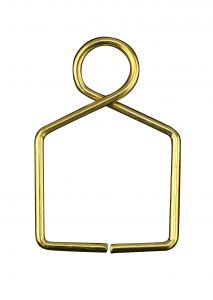 Diyas C90078 Square Claw Link 12X18mm Gold