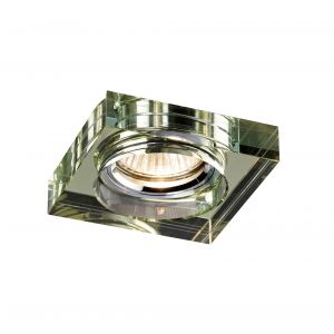 Diyas IL30822WI Crystal Downlight Deep Square Rim Only White Wine, IL30800 Required To Complete The Item