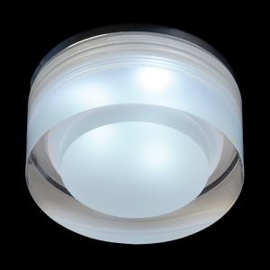 Endon EL-IP-8000, Icen Round, Clear & frosted acrylic