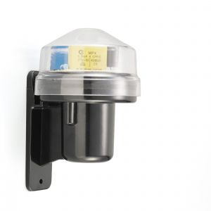 Deco D0060 Espial Wall Mounted Photocell Kit IP65 5-45Lux 10A Black/Clear Cover