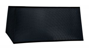 Habana Black Square Shade, 450/450x215mm, Suitable for Floor Lamps