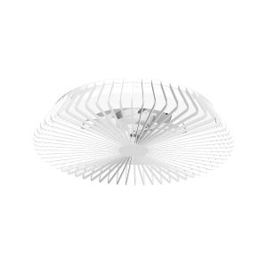 Himalaya 70W LED Dimmable Ceiling Light With Built-In 35W DC Fan, c/w Remote Control, APP & Alexa/Google Voice Control, 3000lm, White, 5yrs Warranty