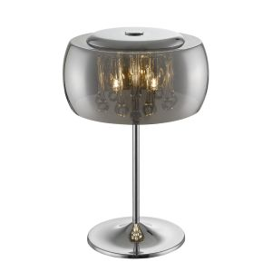 Alfred 3 Light G9 Polished Chrome Table Lamp