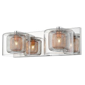 Ermione Double 2 Light G9 Double Insulated Copper Wall Light