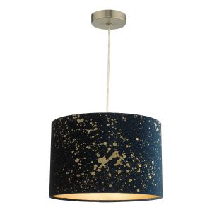 Oxi Non Electric Shade Navy Blue With Gold Speckle Finish