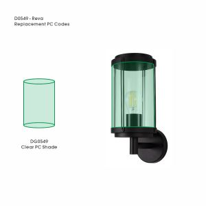 Reva Replacement Clear PC Shade For All Reva Range