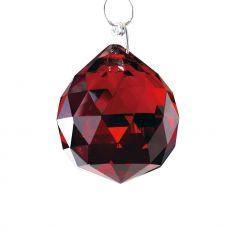 Diyas C10035 Crystal Sphere Without Ring Red 30mm